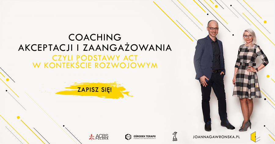 coaching akceptacji i zaangazowania